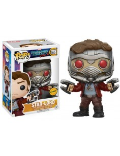 Star Lord Version CHASE Funko POP! Marvel Guardians of the Galaxy Vol 2