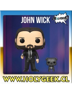 John Wick with Dog Pop!...